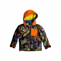 Veste de ski enfant quiksilver little mission kids jacket 2 ans