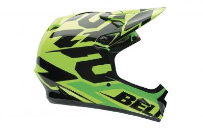 casque integral bell transfer 9 vert jaune noir s 53 55 cm
