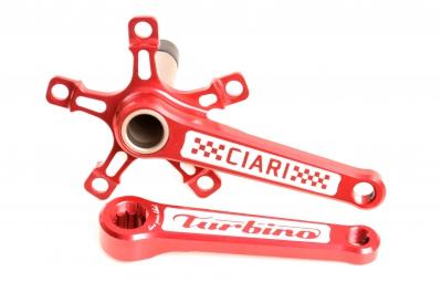 ciari pedalier turbino rouge 135