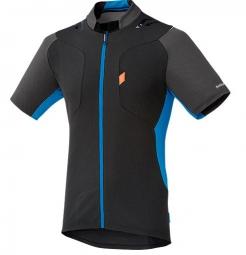 shimano maillot explorer noir bleu clair s