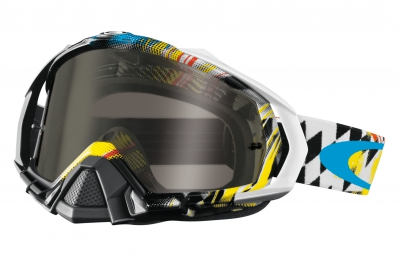 Masque Oakley MAYHEM pro james stewart black white