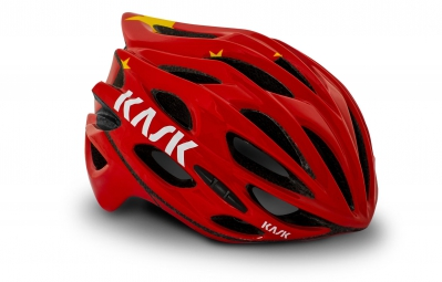 Casque KASK MOJITO FLAG Rouge