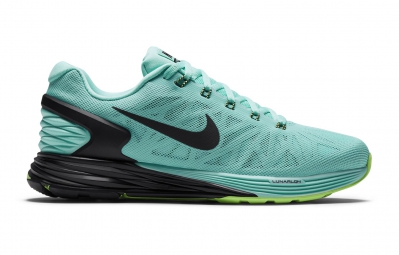 buy popular 5779f bf2b4 NIKE Shoes LUNARGLIDE 6 Blue Black Green Women
