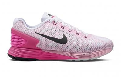28aa75a264e NIKE Shoes LUNARGLIDE 6 White Pink Women