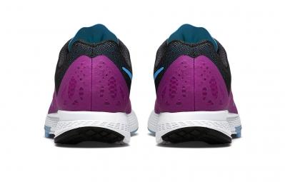 nike chaussures air zoom elite 7 violet femme 38