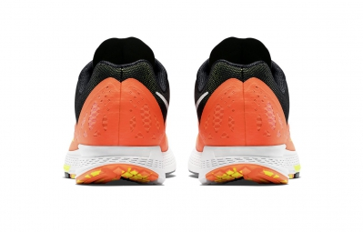 nike chaussures zoom elite 7 orange noir femme 38