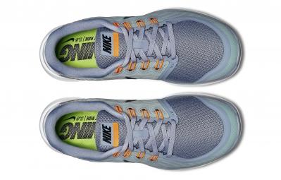 Chaussures de Running Nike FREE 5.0 Gris