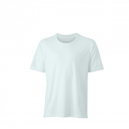 James et nicholson t shirt respirant running jogging jn472 blanc homme course a pied