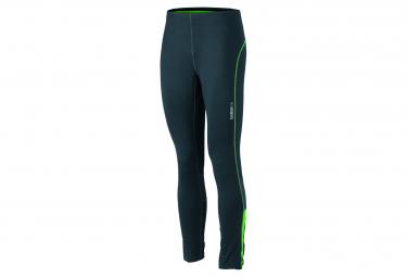 James et Nicholson collant running jogging JN480 - gris fer - vert - homme - course à pied
