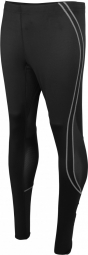 Proact pantalon collant long running homme pa172 noir