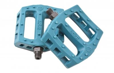 ECLAT Pédales Plastique SURGE Bleu Turquoise