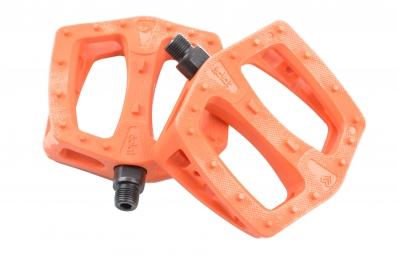ECLAT Pédales Plastique PLAZA Orange