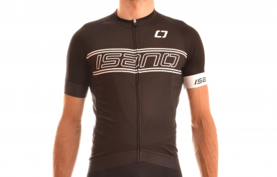 isano maillot manches courtes is 6 0 black white edition xl