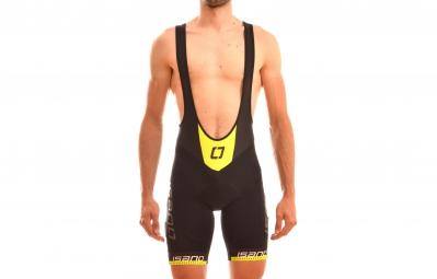isano cuissard court is reflex noir jaune fluo xxl