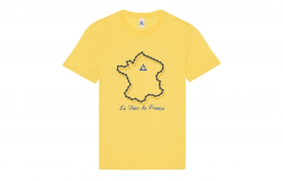 le coq sportif t shirt tour de france n 2 jaune xl