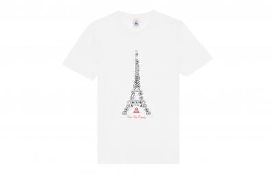 le coq sportif t shirt tour de france n 3 blanc xl