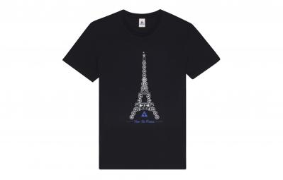 LE COQ SPORTIF T-Shirt Tour de France N°3 Noir