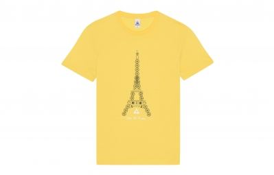 le coq sportif t shirt tour de france n 3 jaune xl