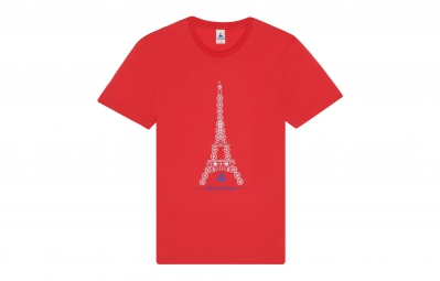 le coq sportif t shirt tour de france n 3 rouge l