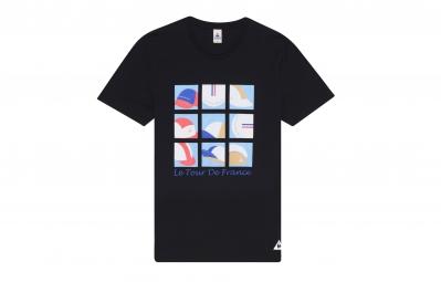 le coq sportif t shirt tour de france n 4 noir m