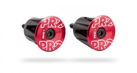 PRO Bar Ends Alloy Red