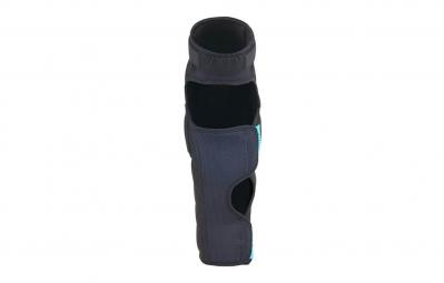 fuse genouilleres avec protege tibia echo 100 noir xl