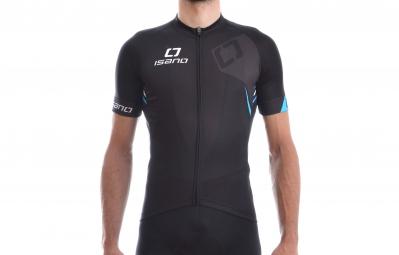 Isano maillot manches courtes is 8 0 noir bleu xxl