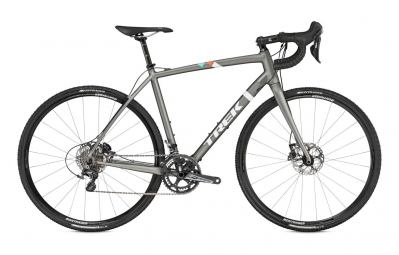 Vélo de Cyclocross Trek Crockett 9 disc Panaché 11V 2016 Gris