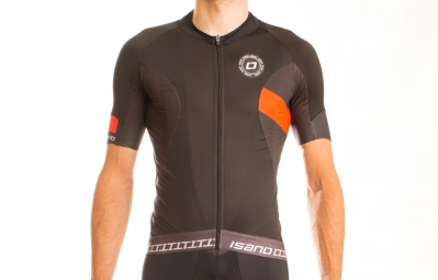 Image of Isano isano maillot manches courtes is 1 0 noir rouge xl