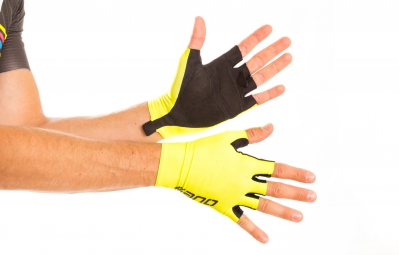 ISANO Paire de Gants Courts IS AERO Jaune Fluo