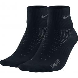 nike chaussettes anti ampoule lightweight noir 2 paires 35 38