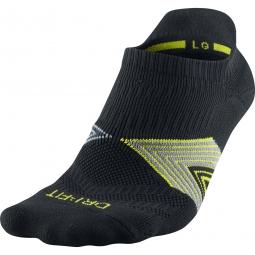 Nike chaussettes running dri fit cushioning noir 46 50