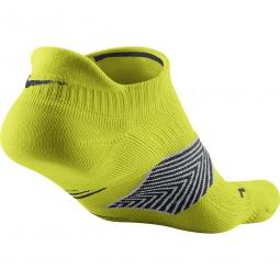 nike chaussettes running dri fit cushioning jaune 35 38