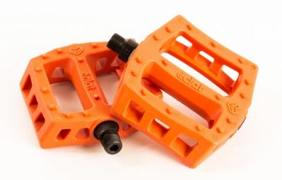 ECLAT Pédales Plastique SURGE Orange