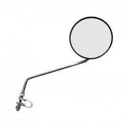 Rétroviseur pour vélo avec bras long et grand miroir 100 mm
