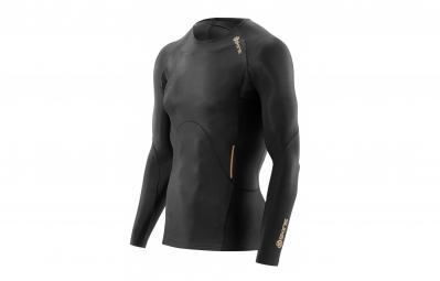 Maillot manches longues de compression skins a400 homme noir l
