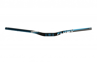 sb3 guidon flowy en 760mm rehausse 25mm noir bleu 35