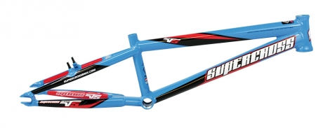 Cadre bmx supercross envy v5 cyan blue pro