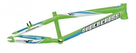 Cadre BMX Supercross ENVY V5 Limegreen