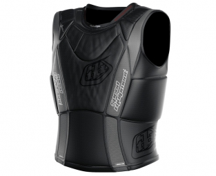 troy lee designs gilet de protection sans manches 3800 noir m