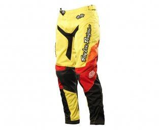 troy lee designs pantalon gp airway femme jaune 38