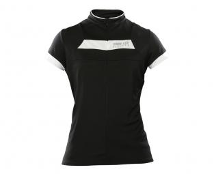 troy lee designs maillot manches courtes femme ace noir s