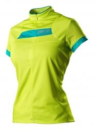 troy lee designs maillot manches courtes femme ace vert s