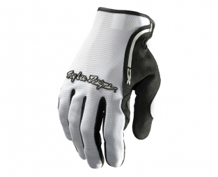 troy lee designs paire de gants longs xc blanc s