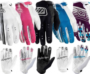 TROY LEE DESIGNS Paire de Gants longs ACE Femme Bleu L