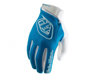 troy lee designs paire de gants longs gp air bleu xl