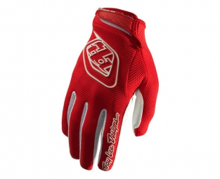 troy lee designs paire de gants longs gp air rouge m