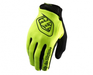 troy lee designs paire de gants longs gp air jaune l