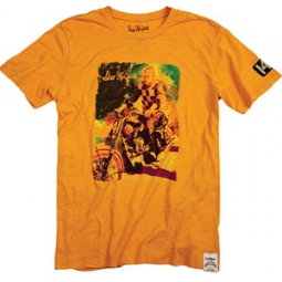 troy lee designs t shirt premium 141 orange l