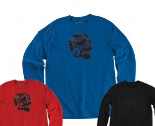 troy lee designs t shirt ghost rider rouge l